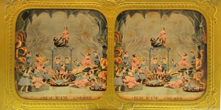 Images stéréoscopiques Alfred Habert Pean d'Âne Adolphe Block