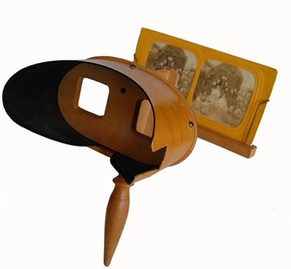 Images stéréoscopiques stéréoscope Holmes Mexicain