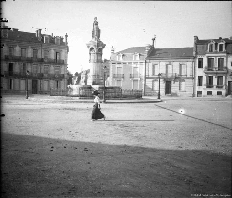 Périgueux, la place Plumancy