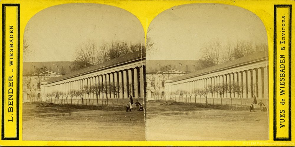 Images stéréoscopiques Bender Ludwig vues de Wiesbaden