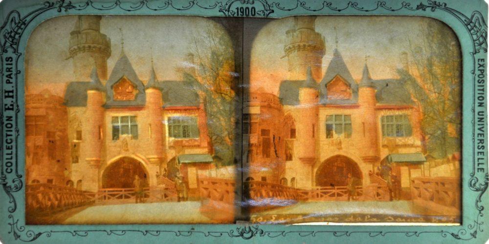 Images stéréoscopiques Hanau Eugène Paris Exposition universelle 1900