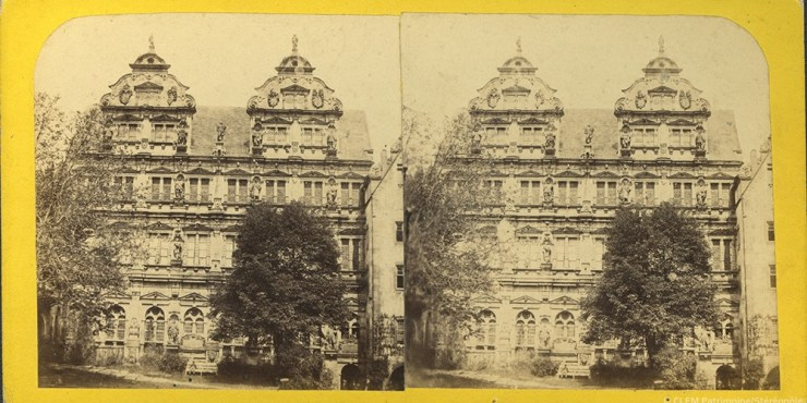 Images stéréoscopiques Lange Edouard Heidelberg