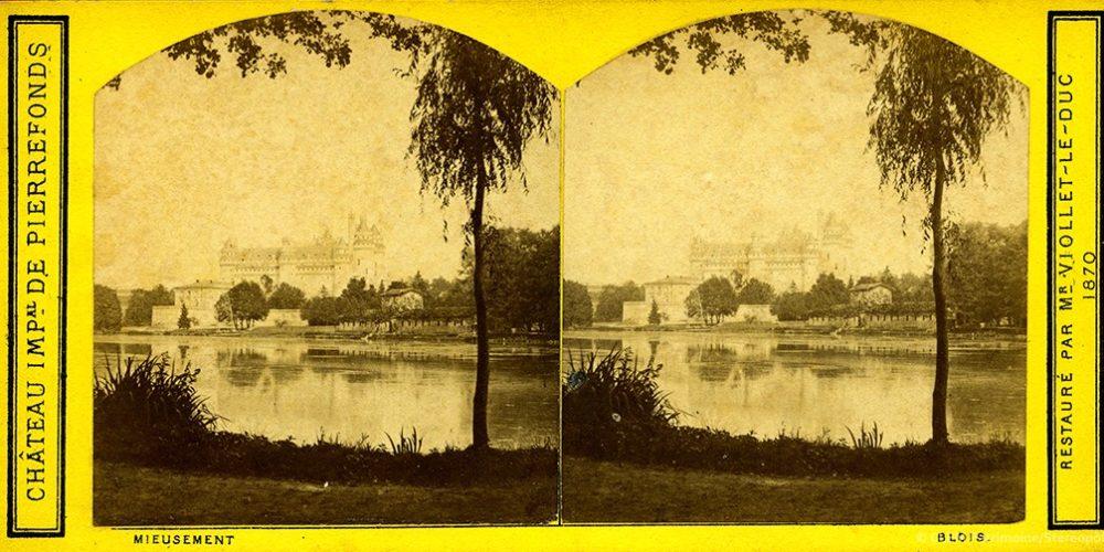 Images stéréoscopiques Mieusement Médéric Pierrefonds 1870