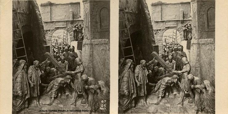 Images stéréoscopiques Noyer Armand La vie de Jesus