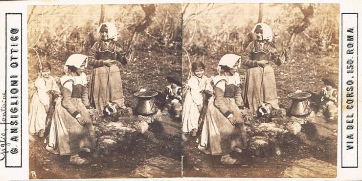 Images stereoscopiques Ansiglioni Giuliano Veroli