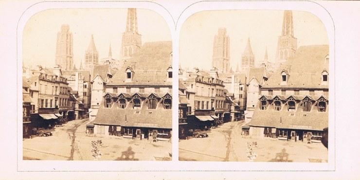 Images stéréoscopiques Reeve Lovell Augustus Rouen