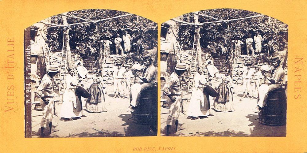 Images stéréoscopiques Rive Robert Naples
