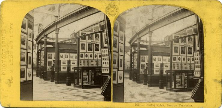 Images stéréoscopiques Archives nationales Exposition Universelle 1867 Léon et Lévy 301 F/12/11893
