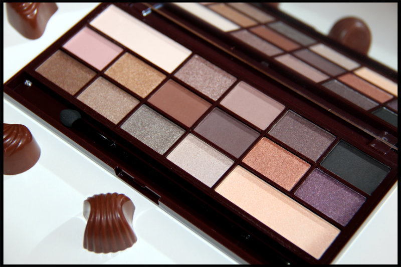 Makeup Revolution I ♡ Makeup Death By Chocolate Review/Swatch (6/6)