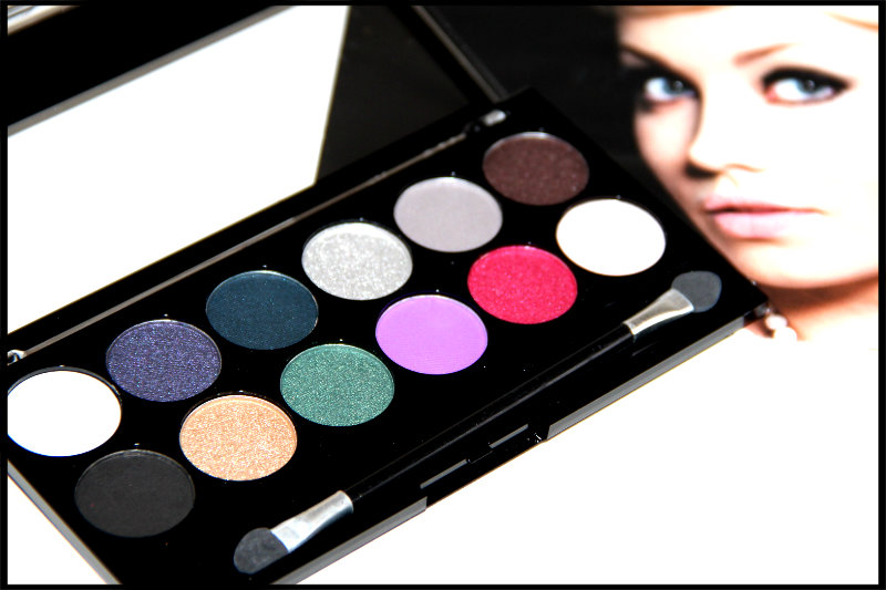 MUA Glamour Nights Eyeshadow Palette Review/Swatch (4/6)