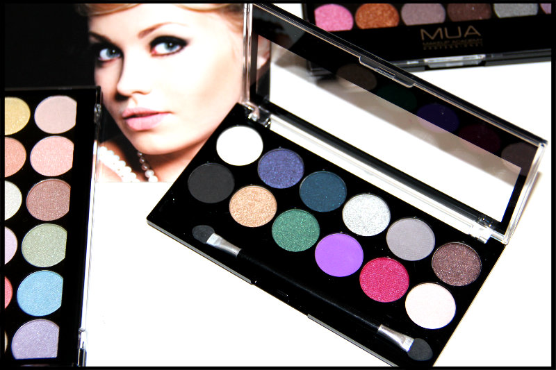MUA Glamour Nights Eyeshadow Palette Review/Swatch (5/6)