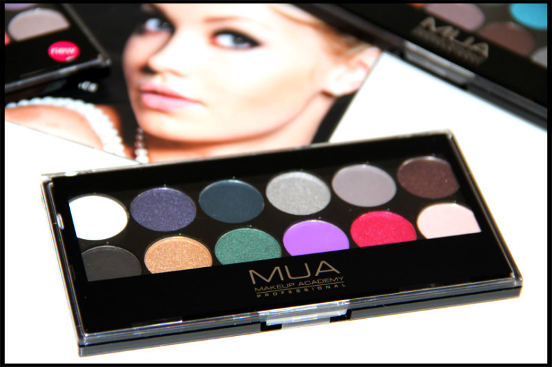 MUA Glamour Nights Eyeshadow Palette Review/Swatch (1/6)