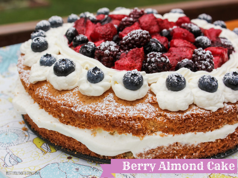 Berry Almond Cake