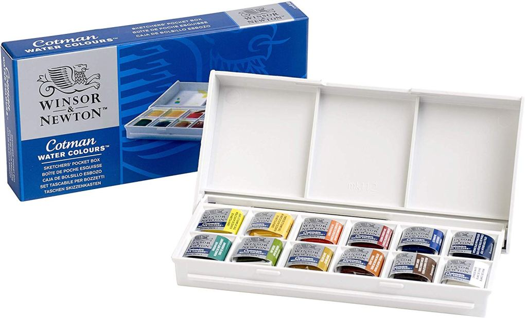 Winsor Newton Water Colour Set