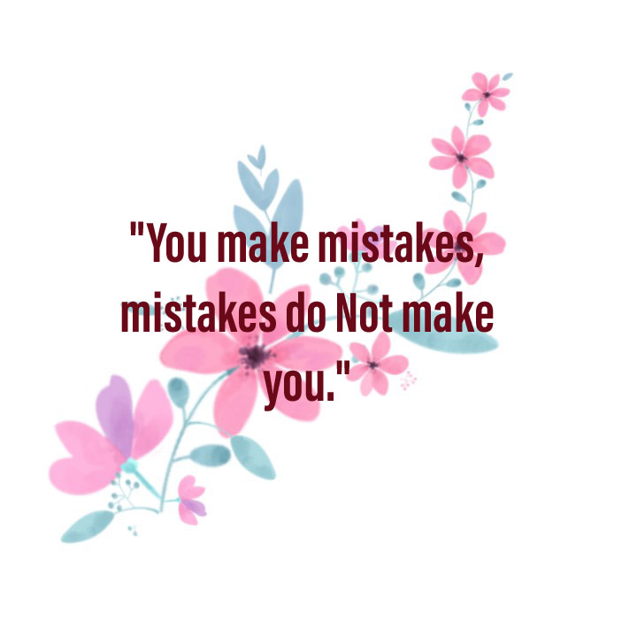 you make mistakes and learn