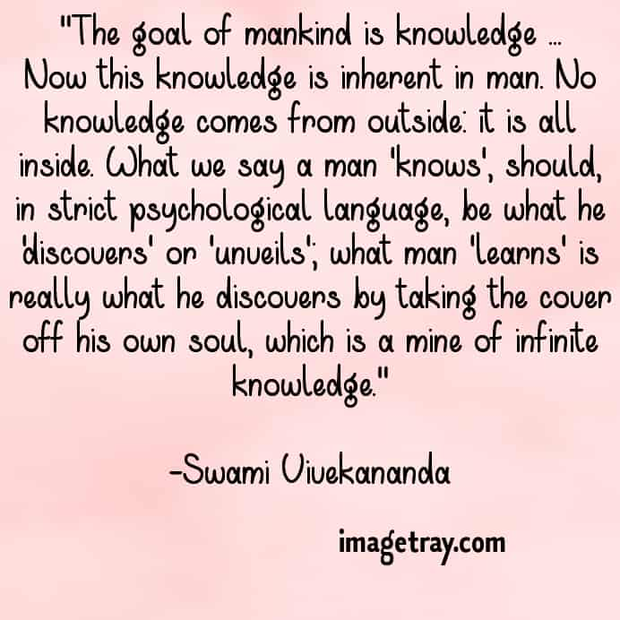 swami Vivekananda magic words