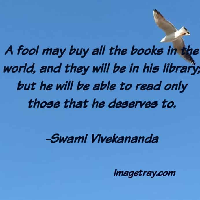 the deepest quote on swami Vivekananda