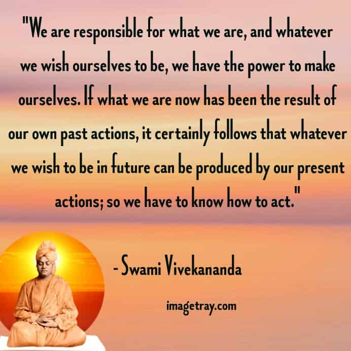 few inspiring words from swami Vivekananda quotes