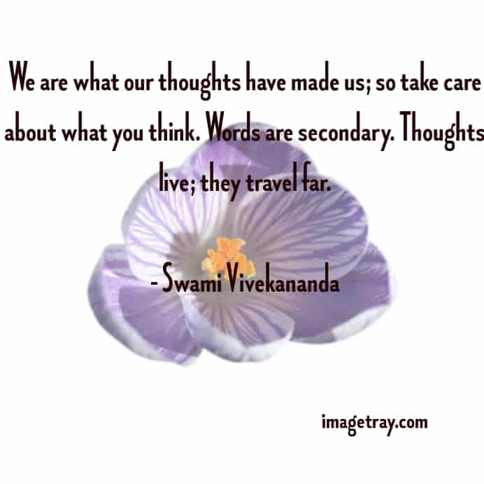 amazing quote about thoughts from swami Vivekananda quotes