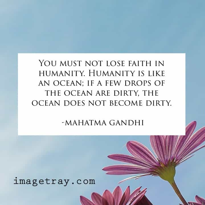 famous mahatma Gandhi quotes with images