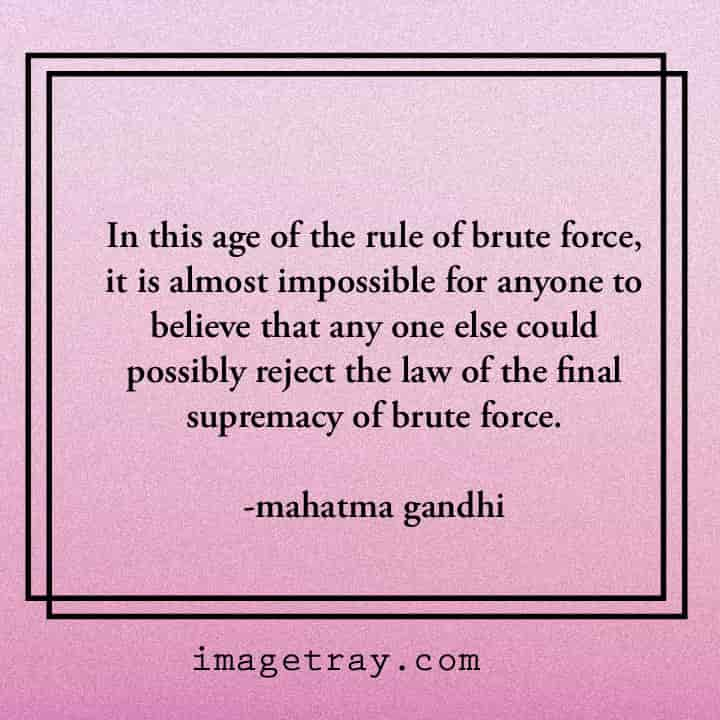 best mahatma Gandhi quotes on believe