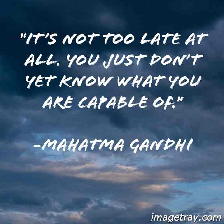 Gandhi quotes on piece