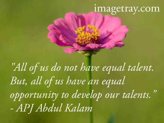 apj addul kalam quotes about life