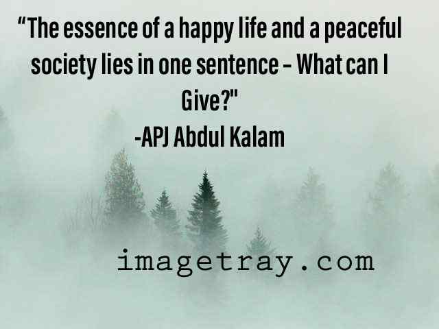 happy life from kalam quotes