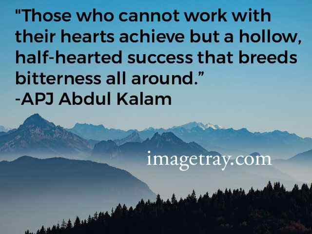 kalam quotes on confident with hard works