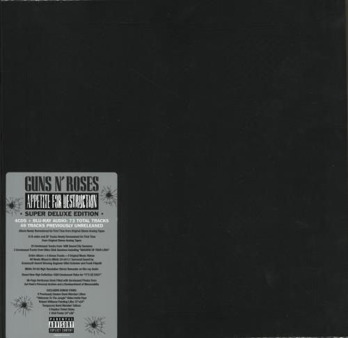 Guns N' Roses - Appetite For Destruction (2018) [FLAC] Download