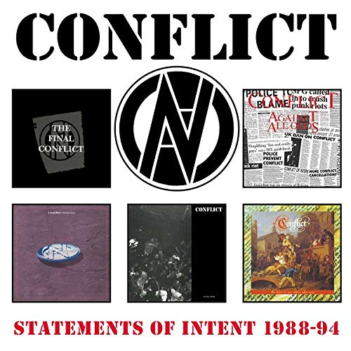 Conflict - Statements Of Intent 1988-94 (2021) [FLAC] Download