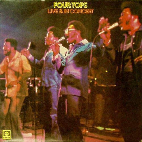 Four Tops - Live And In Concert (1995) [FLAC] Download