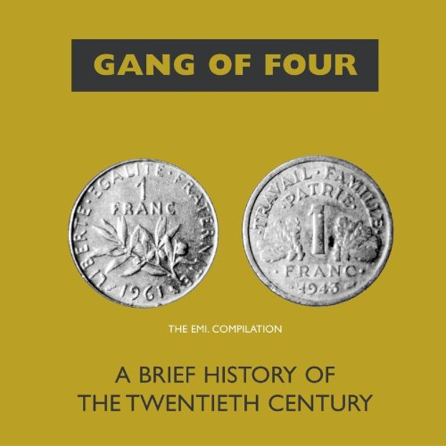 Gang Of Four - A Brief History Of The Twentieth Century (1990) [FLAC] Download