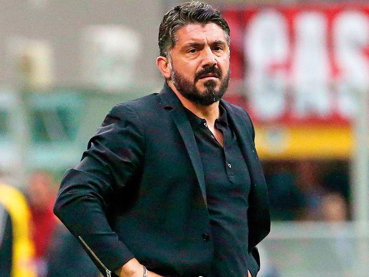 Napoli Sacks Ancelotti appoint Gattuso as head