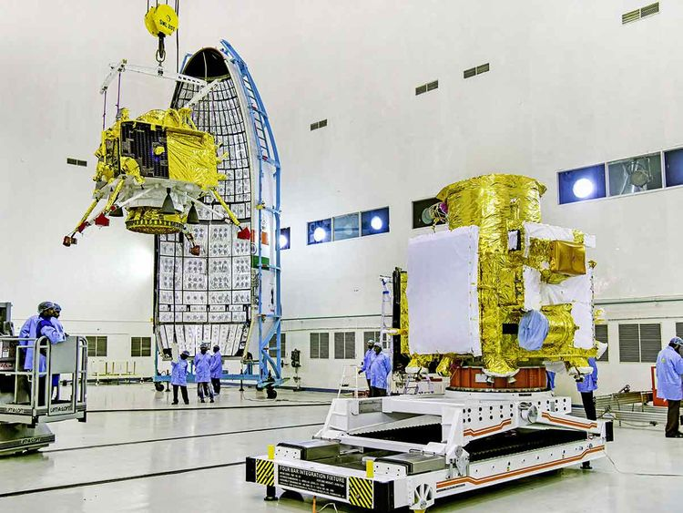 The total cost of Chandrayaan-2 Is....