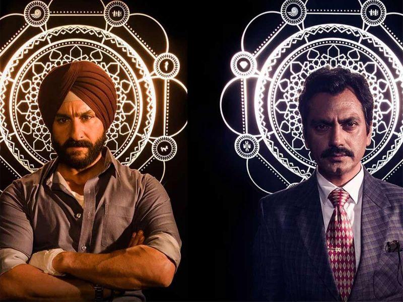 Best Indian web series 'Sacred games'