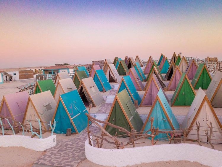 Camping in the UAE