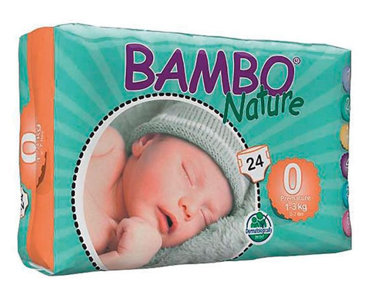 BC Bambo Nature Eco Disposable Diapers