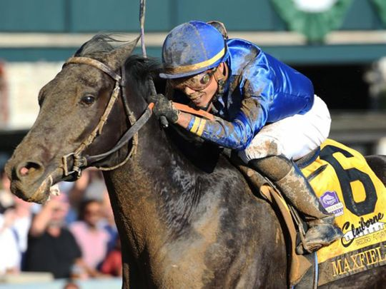 Godolphin's Maxfield is in the running for the Kentucky Derby