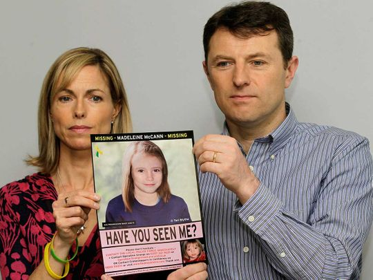 Kate and Gerry McCann Madeleine
