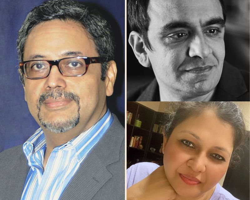 India's top advertising industry executives (clockwise from top: Amit Akali, Nisha Singhani and Kaushik Roy) have come together in defense of an advertisement for Tanishq, Tata's flagship jewellery brand which ran a campaign on the sentiment of cultural and national integration, but which Hindu nationalists labelled as extolling