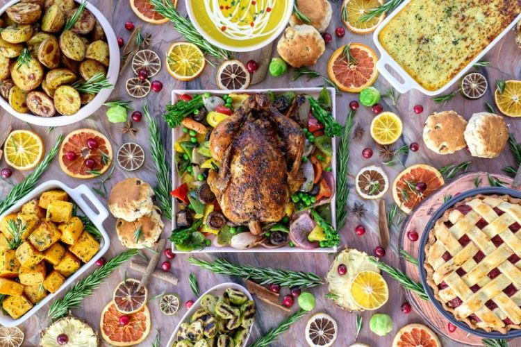 vibe festive, Top Brunches In UAE For Christmas