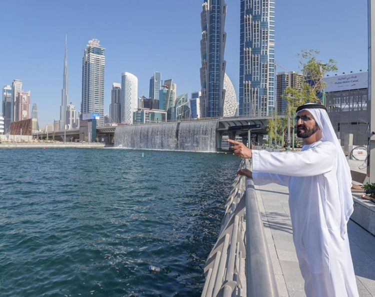 Dubai water canal pictures