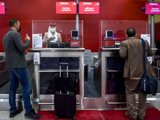 Now your face will be your passport The latest system at Dubai Airport