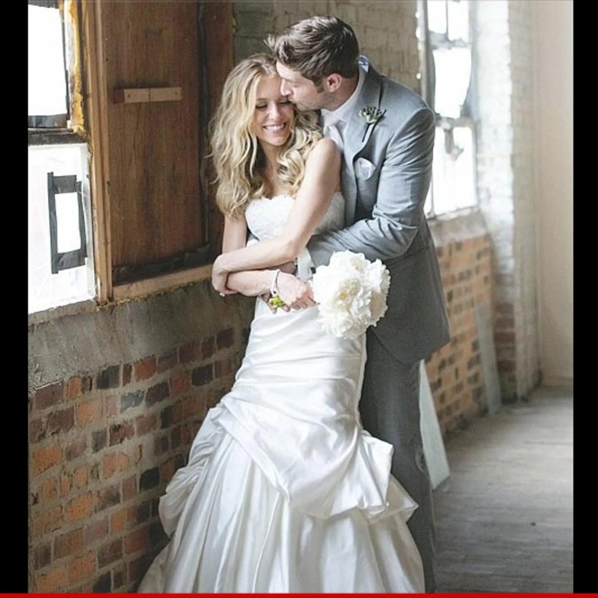 Jay Cutler & Kristin Cavallari Wedding Photo -- If At First You Don't  Succeed ...