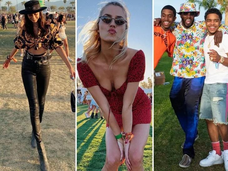 Stars at Coachella 2019