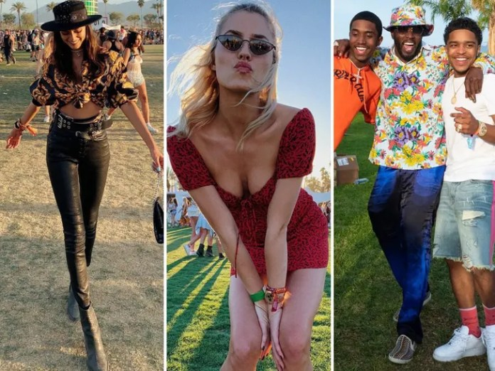 Stars at Coachella 2019