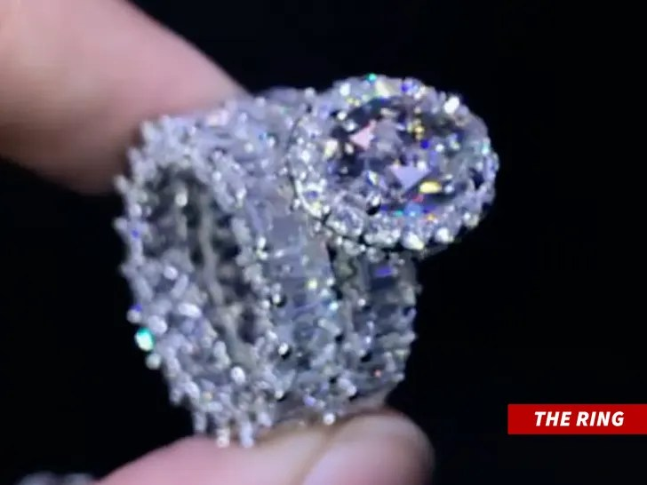 Dwayne Haskin engagement ring