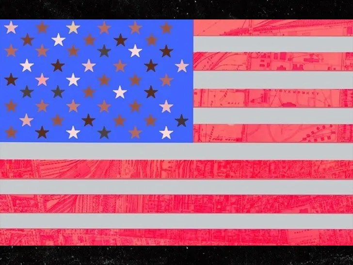 macy gray proposed new usa flag