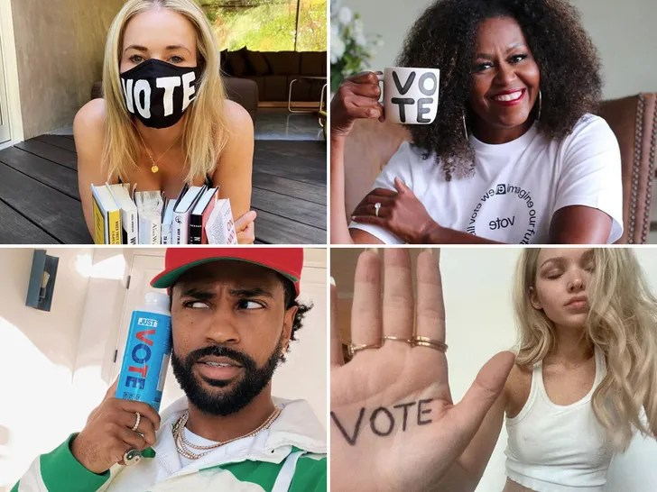 Stars Promote The Vote!